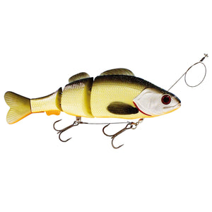 Percy the Perch Inline Swimbait 20cm UV Official Roach