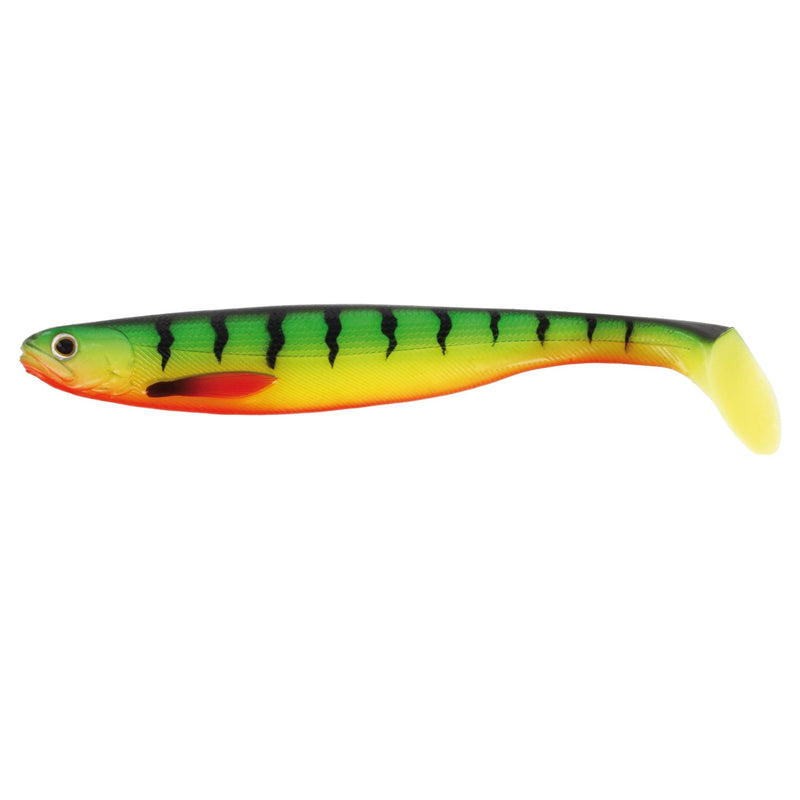 ShadTeez 27cm Gummifisch Single Packing Crazy Firetiger