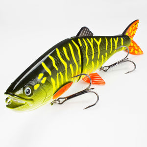 3D Rocking Motion Swimmer 20,5cm Pike
