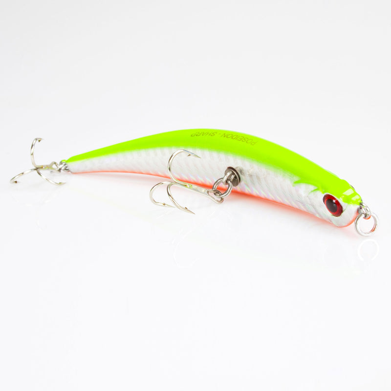 Crank Bait chartreuse flash