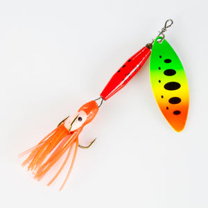 Spinner Long blade octotail 18g 004