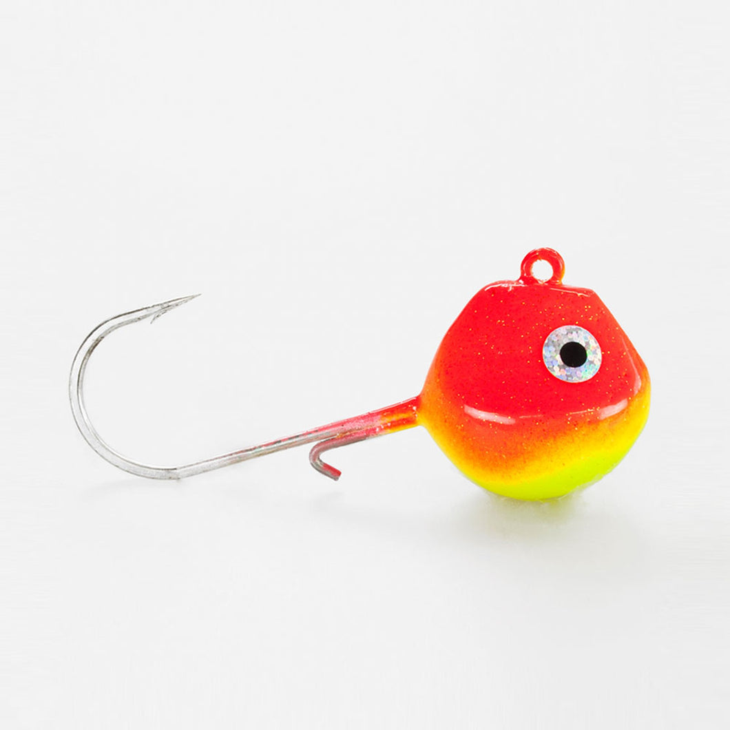 Seawaver Lures Light Tackle LT Jighead Med VMC Krog Rød / Gul