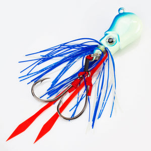 Brainpower V2 Squid Jig 120g Marswars