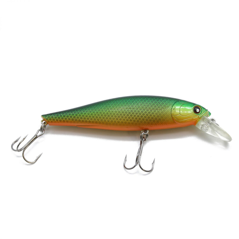 Rolling Shad 10,0cm Green Stickleback