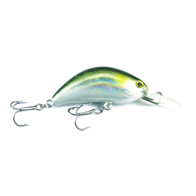 Little Humpy 4,0cm Silver green