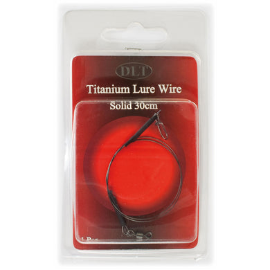 Titanium Lure Wire Solid 30cm (Titanvorfach)