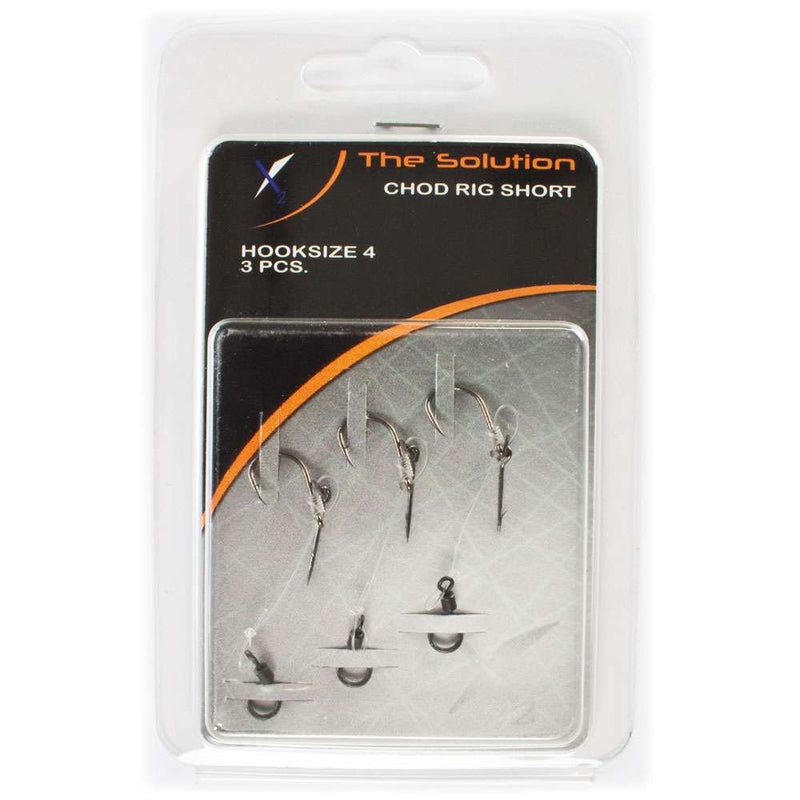 The Solution Chod Rig Short Karpeforfang (3 Stk. Pakning)