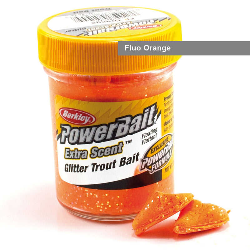 Powerbait Glitter Fluo Orange