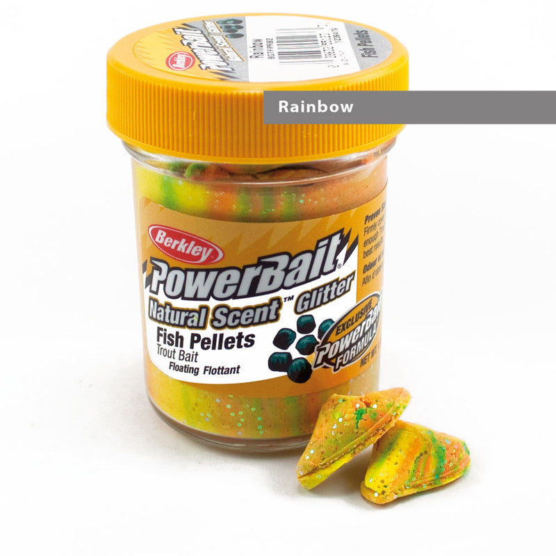 Powerbait Dough Natural Scent Fish Pellet Rainbow