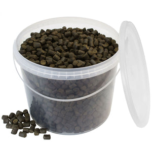 Black Halibutt Premium Select Pellet 10mm 2,5kg Eimer
