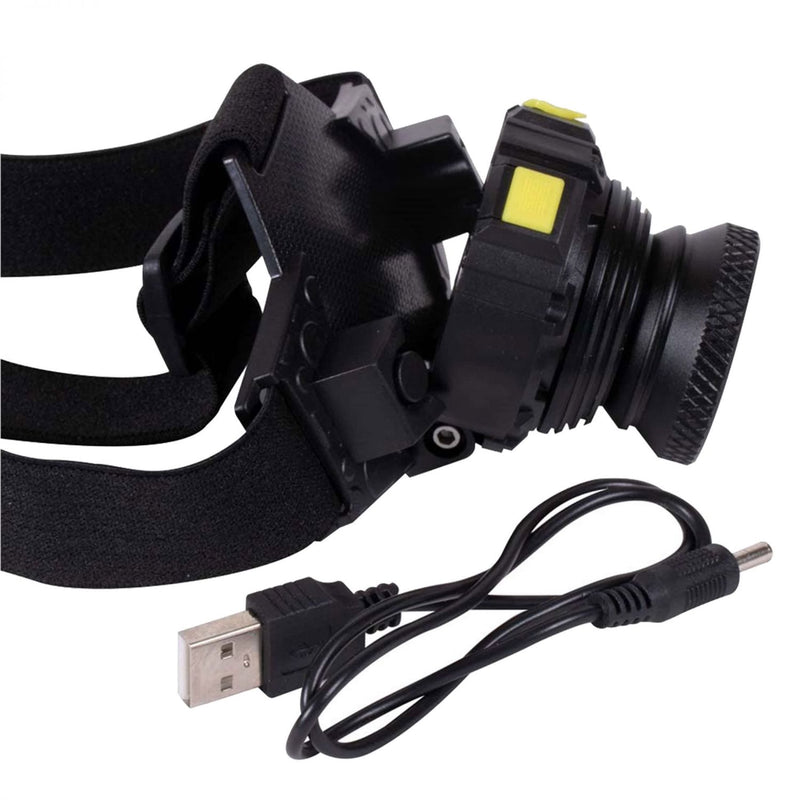 Kopflampe USB Head Torch