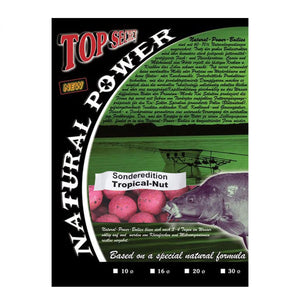 Natural Power Boilies Sonderedition 20mm Tropical-Nut 3kg