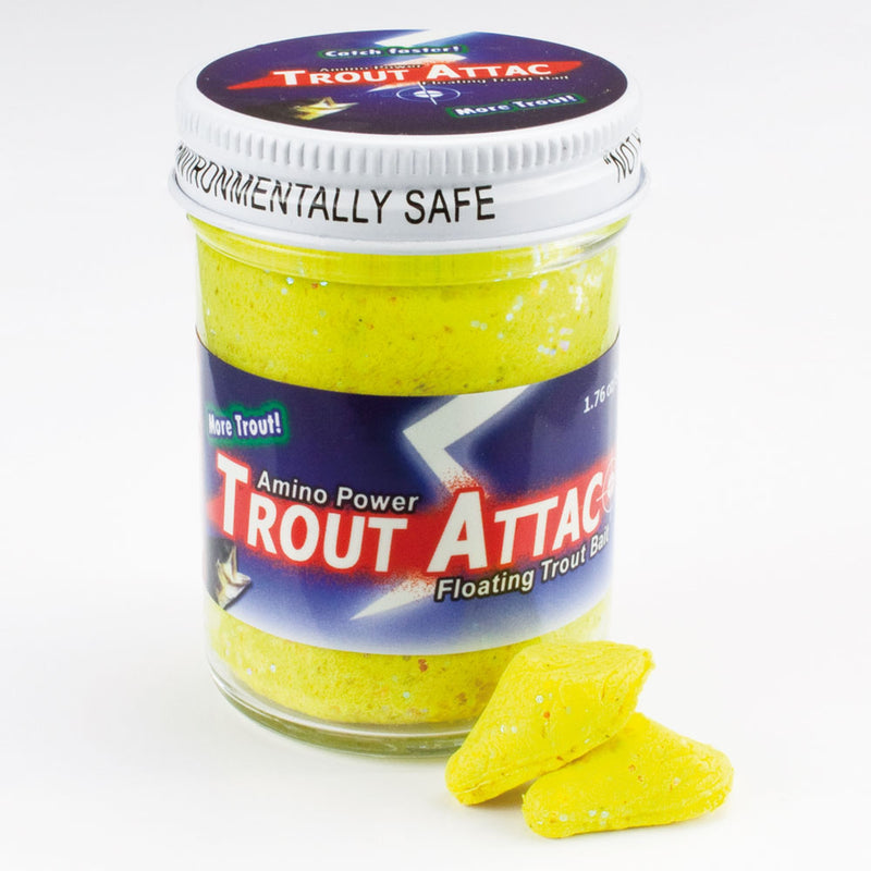 Amino Trout Attac Forellenteig schwimmend Yellow Flash