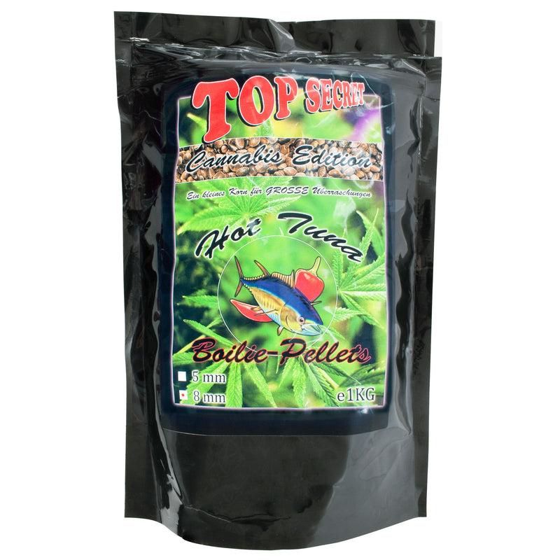Cannabis-Edition Boiliepellets 8mm Hot Tuna 1Kg