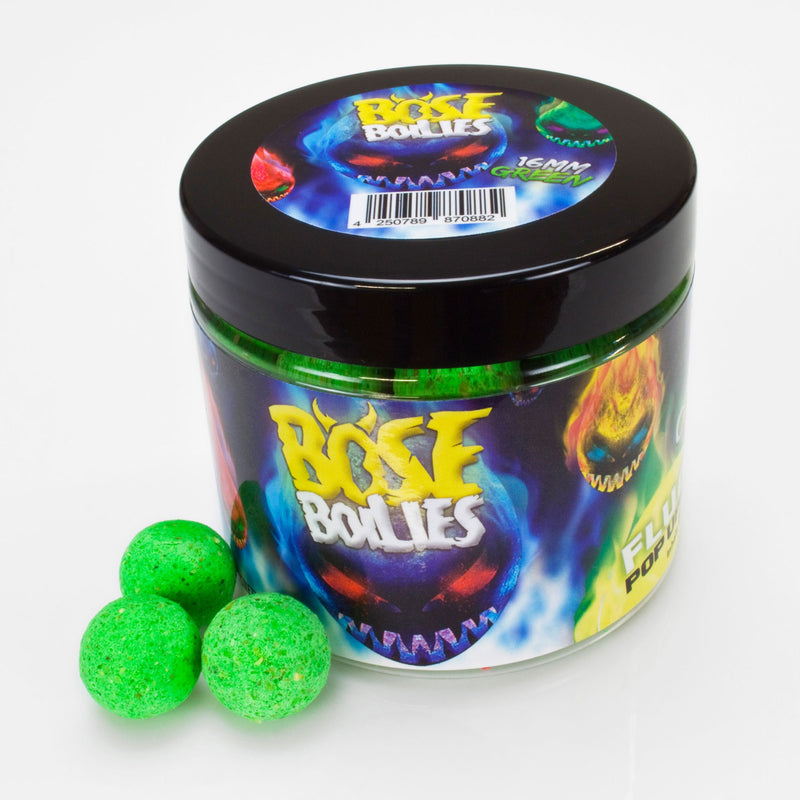 Böse Boilies Fluo Pop Ups 16mm Blazing Green (grün)