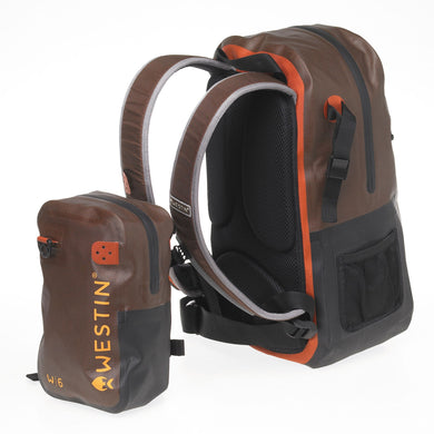 W6 Wading Backpack & Chestpack (Angelrucksack)