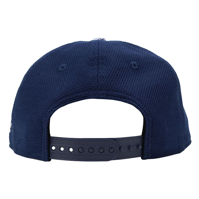 Navy and Scales Cap
