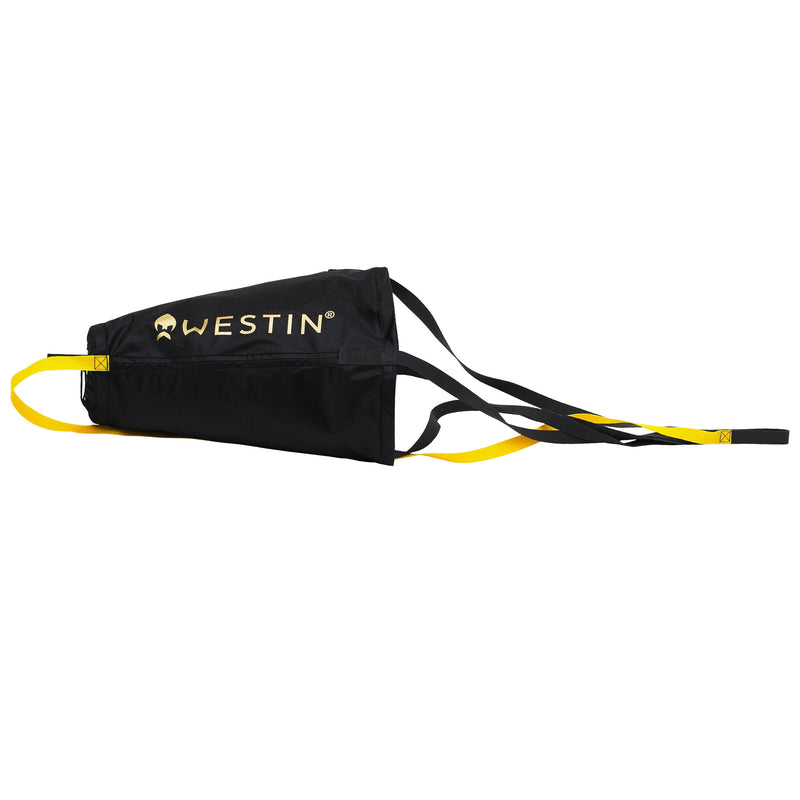 W3 Drift Sock Trolling/Kayak Small Black/High Viz. Yellow