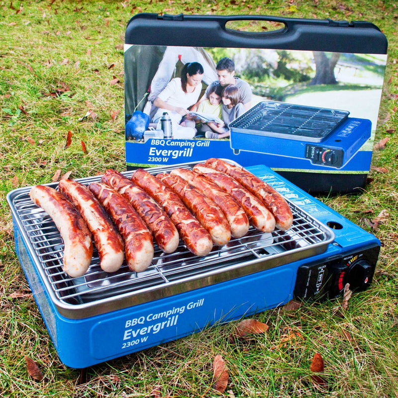 Butangas Camping Grill Evergrill mit Koffer