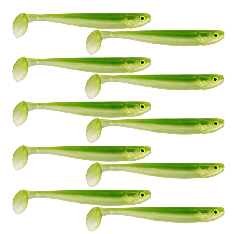 "Tackle Porn Magnetic Mama 3"" Softbait, 7,60 cm - 3g - 10 Styck - Weedy Witch"