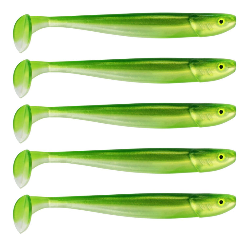 "Tackle Porn Magnetic Mama 5"" Softbait, 12,60 cm - 11g - 5 Stück - Weedy Witch"