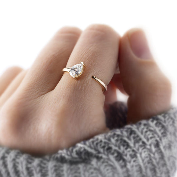 What is the best setting for a solitaire diamond?