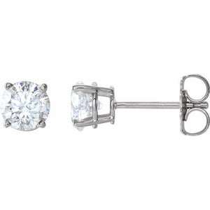 Lab Grown Diamond Earrings 0.60 carats