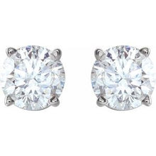 Load image into Gallery viewer, Lab Grown Diamond Earrings 0.60 carats