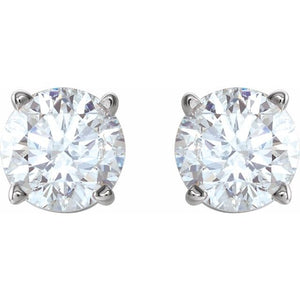 Lab Grown Diamond Earrings 1.00 carats