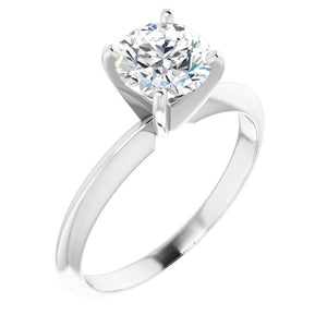 4-Prong Solitaire Ring