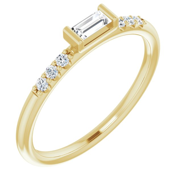 Infinite Shine Stackable Diamond Ring
