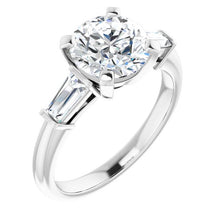 Load image into Gallery viewer, Accented Engagement Ring