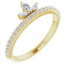 Load image into Gallery viewer, Love.Angel.Music.Diamond Ring