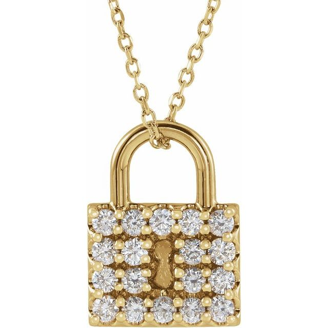Nora Lock Necklace