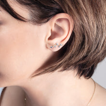 Load image into Gallery viewer, Leaf  Crawler Earrings