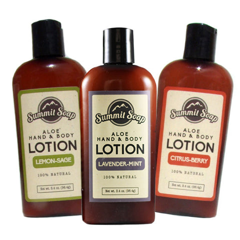 Aloe Hand & Body Lotion (3.4 oz.)