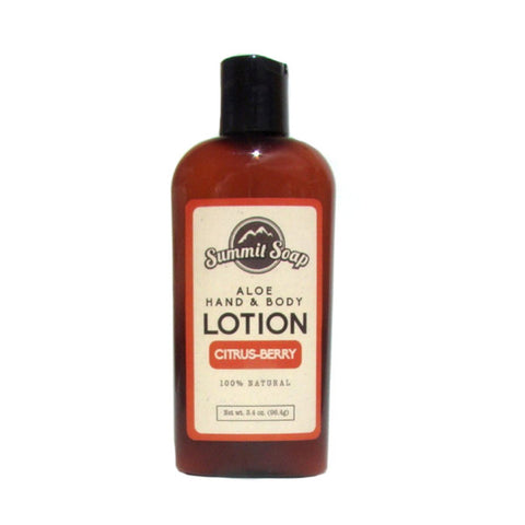 Citrus & Berry Aloe Hand & Body Lotion (3.4 oz.)