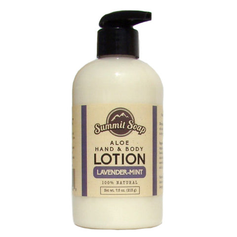 Lavender & Mint Aloe Hand & Body Lotion (7.5 oz.)