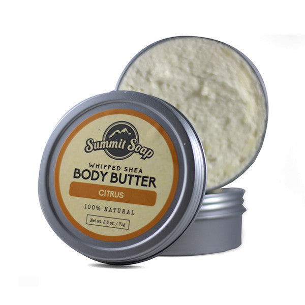 Citrus Whipped Shea Body Butter (2.5 oz.)