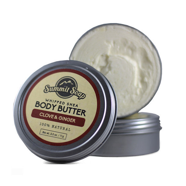 Clove & Ginger Whipped Shea Body Butter (2.5 oz.)