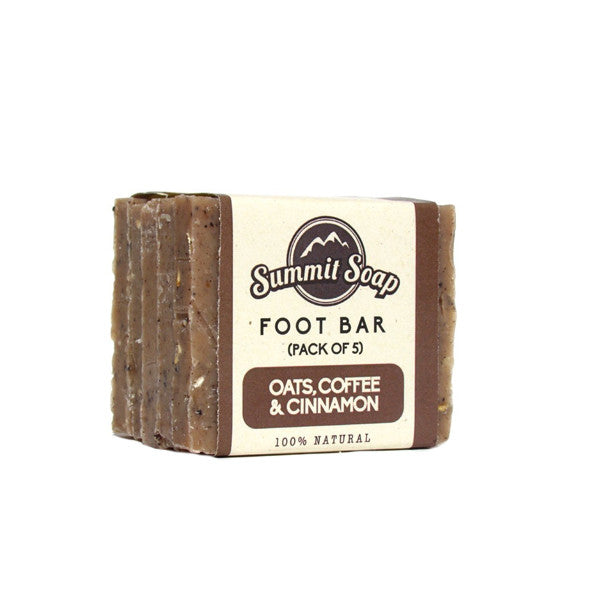 Oats, Coffee & Cinnamon Foot Scrub Bars (5 oz.)