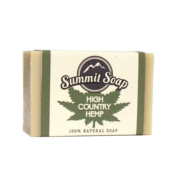 High Country Hemp Soap Bar (4 oz.)