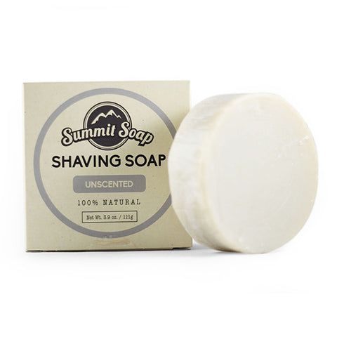 Unscented Shaving Soap (3.9 oz.)