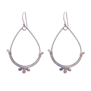 3 petal flower earrings are lightweight and lovely, the perfect Bronwen Jewelry gift for the adventure girl in your life