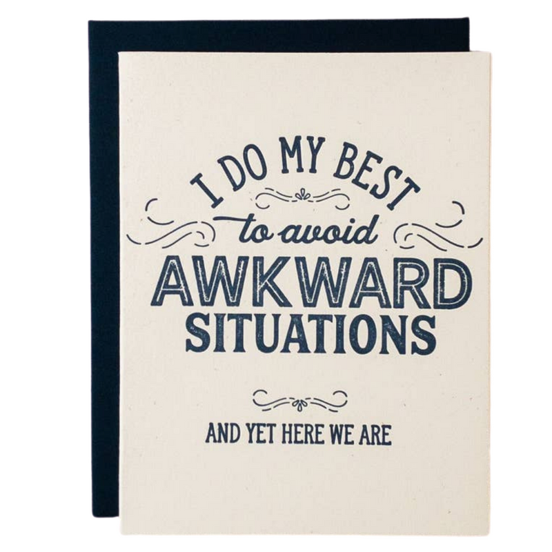 Awkward Situtations Card