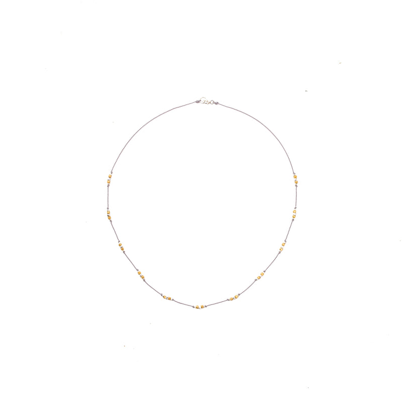 Our Baselayer necklace is durable, stylish and functional, a Bronwen Jewelry pick for everyday active-chic