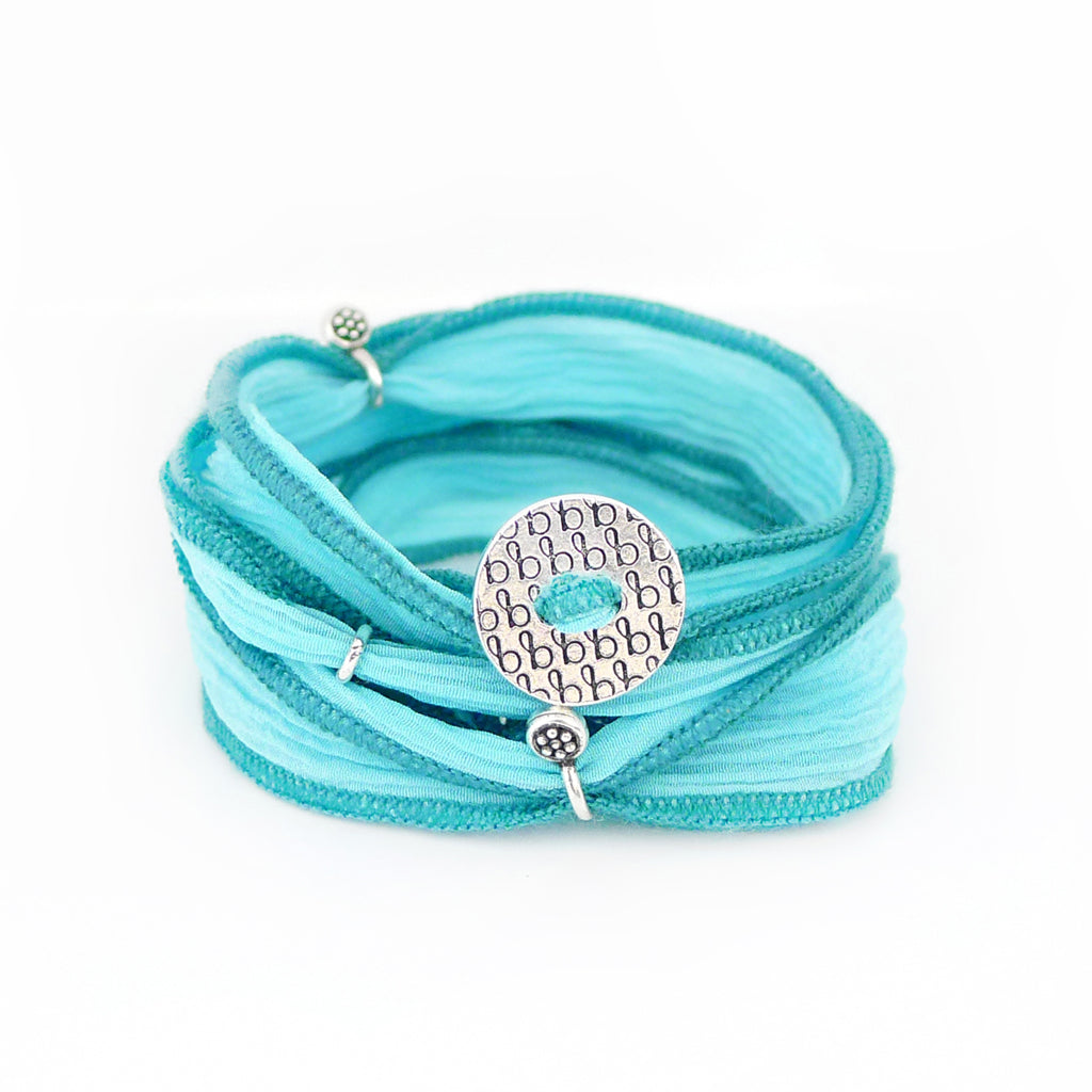 Ribbon Wrap - Bright Aqua