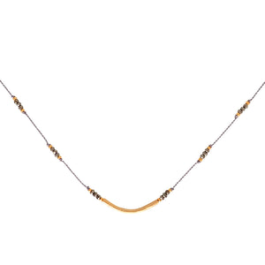 Crescendo Necklace - Pyrite