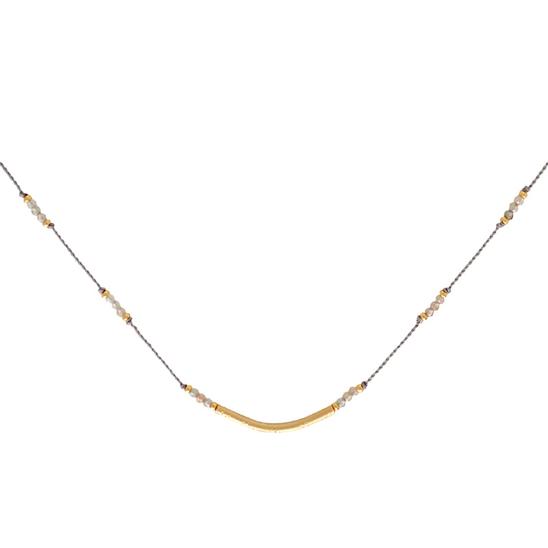 Crescendo necklaces are adjustable, water worthy and elegant. Wear this Bronwen Jewelry for all your everyday activities