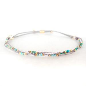 Stretch Halo bracelets are fun and elegant, durable and adjustable, a Bronwen Jewelry favorite for everyday active-chic
